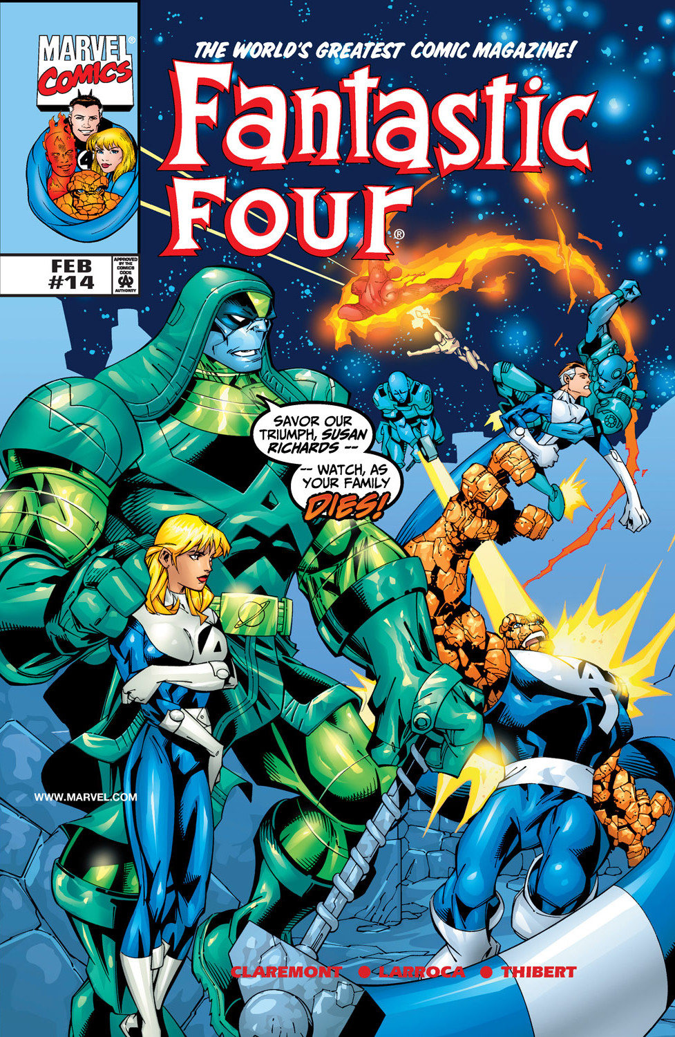 Fantastic Four Vol 3 14