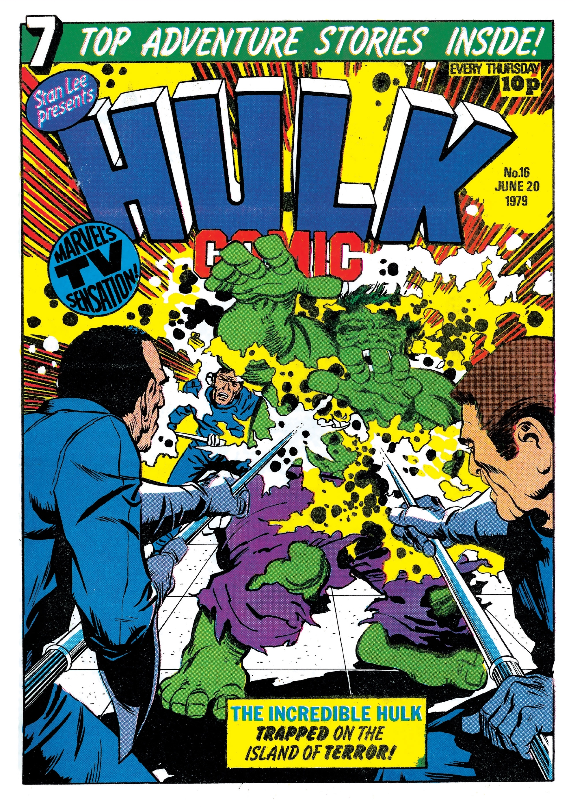 Hulk Comic (UK) Vol 1 16