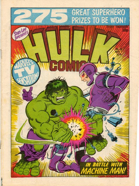 Hulk Comic (UK) Vol 1 36