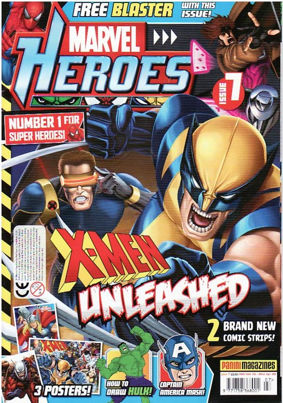 Marvel Heroes (UK) Vol 1 7