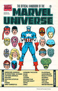 Official Handbook of the Marvel Universe Master Edition Vol 1 2