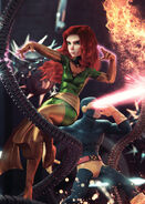 Phoenix Resurrection The Return of Jean Grey Vol 1 4 Hugo Connecting Variant Textless