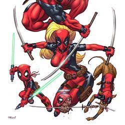 Katanas de Deadpool