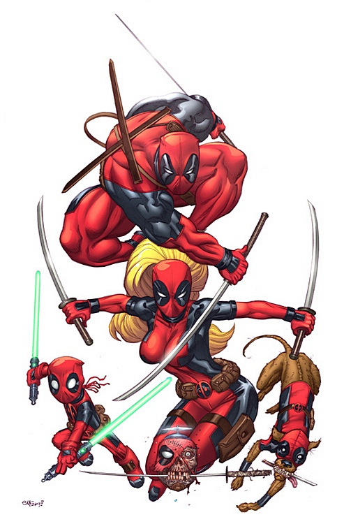 Deadpool's Katanas