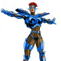 Ravonna Renslayer (Earth-93091) from Official Handbook of the Marvel Universe A-Z Update Vol 1 3 001.jpg