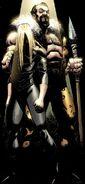 Sergei Kravinoff (Earth-616) and Anastasia Kravinoff (Earth-616) from Scarlet Spider Vol 2 9