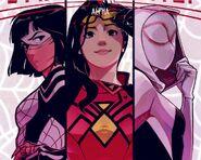 Spider-Women (Earth-65) from Spider-Women Alpha Vol 1 1 0001