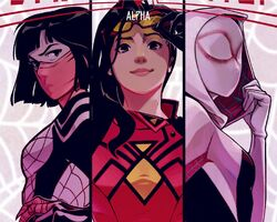 Spider-Women (Earth-65) from Spider-Women Alpha Vol 1 1 0001.jpg