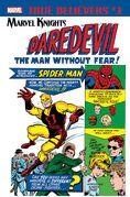 True Believers Marvel Knights 20th Anniversary - Daredevil by Lee & Everett Vol 1 1