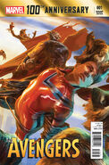 100th Anniversary Special - Avengers Vol 1 1 Lozano Variant