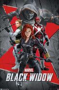 Black Widow (film) poster 010