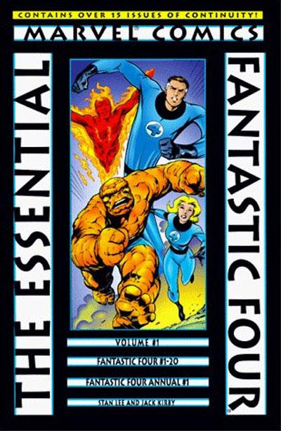 Essential Series: Fantastic Four Vol 1