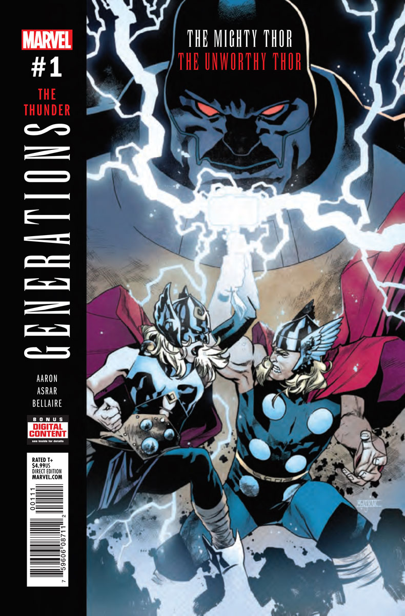 Generations: The Unworthy Thor & The Mighty Thor Vol 1 1