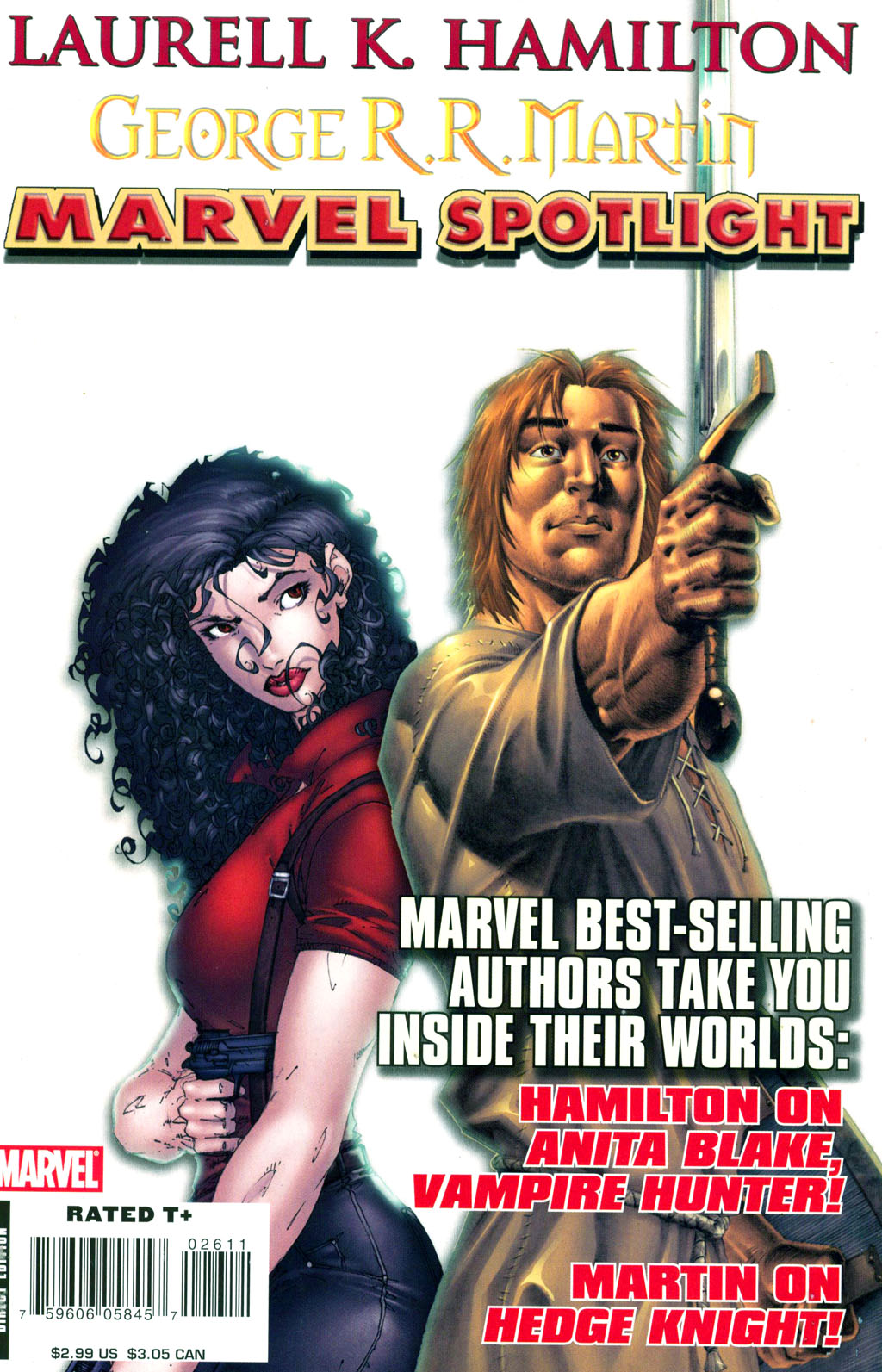 Marvel Spotlight: Laurell K. Hamilton / George R.R. Martin Vol 1 1
