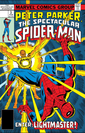 Peter Parker, The Spectacular Spider-Man Vol 1 3.jpg