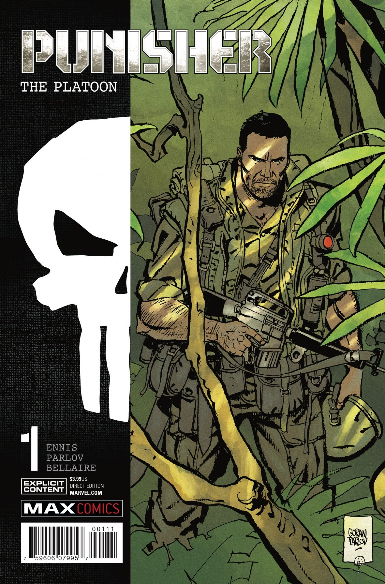 Punisher MAX: The Platoon Vol 1 1