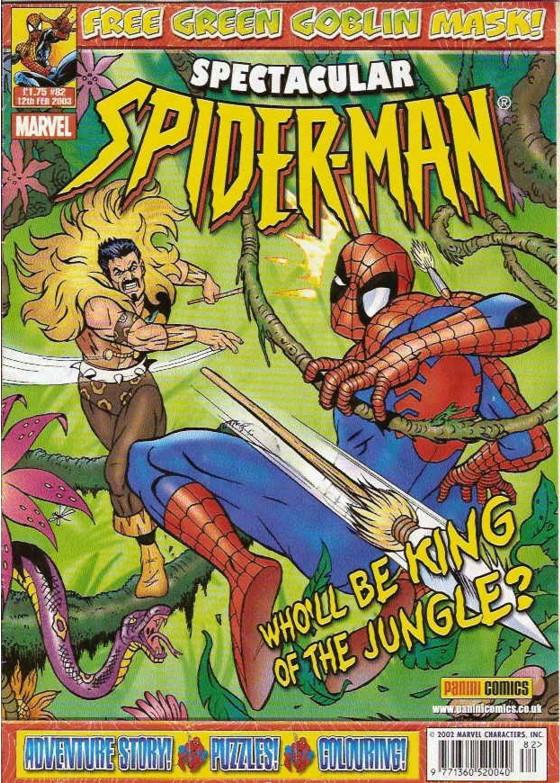Spectacular Spider-Man (UK) Vol 1 82