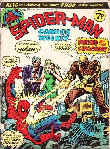 Spider-Man Comics Weekly Vol 1 85