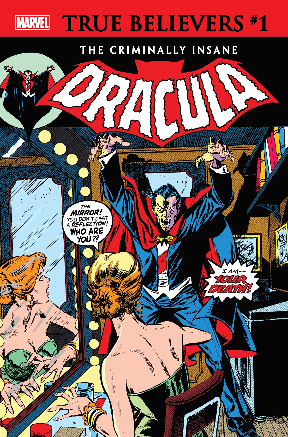 True Believers: The Criminally Insane - Dracula Vol 1 1