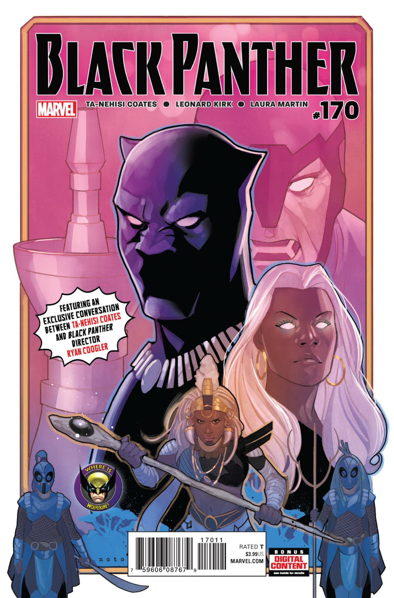 Black Panther Vol 1 170