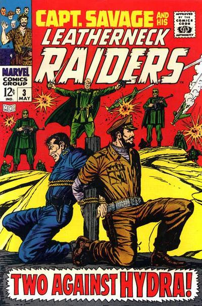 Capt. Savage and his Leatherneck Raiders Vol 1 3