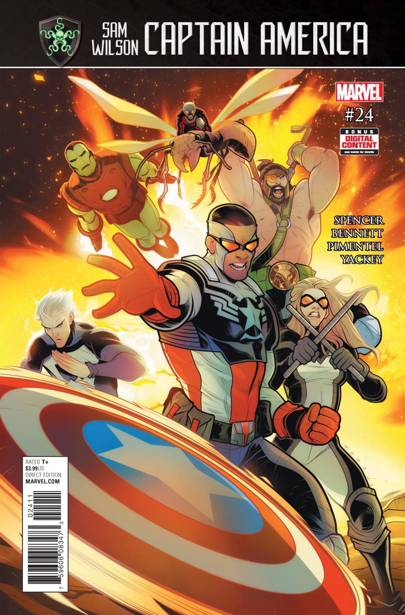 Captain America: Sam Wilson Vol 1 24