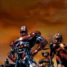 Dark Avengers Vol 1 1 Second Printing Variant Textless.jpg