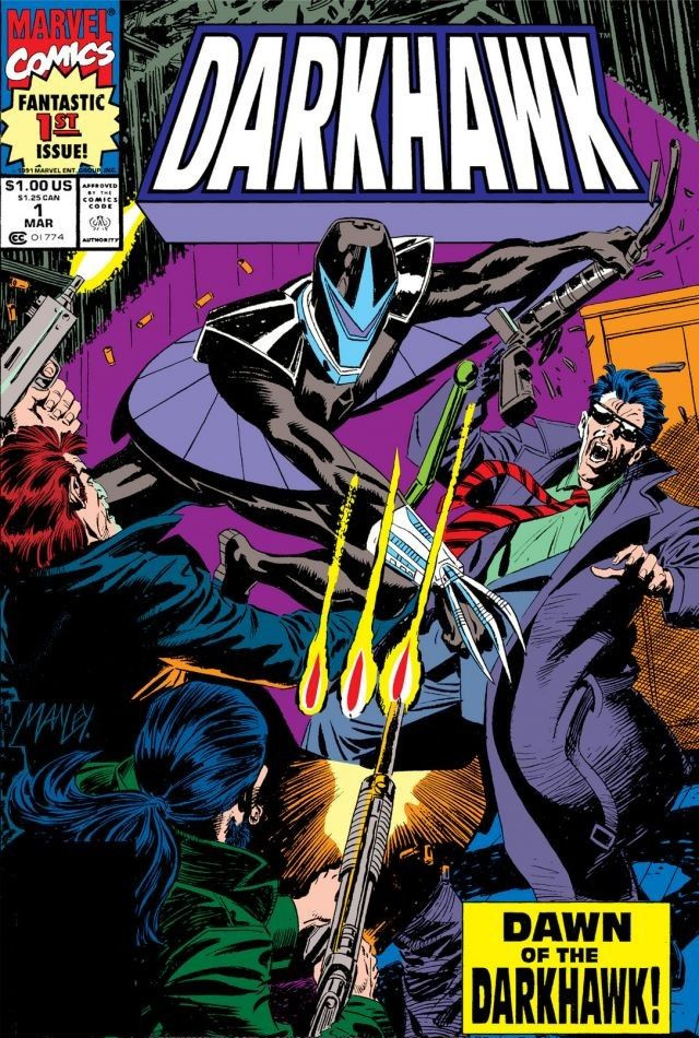 Darkhawk Vol 1 1