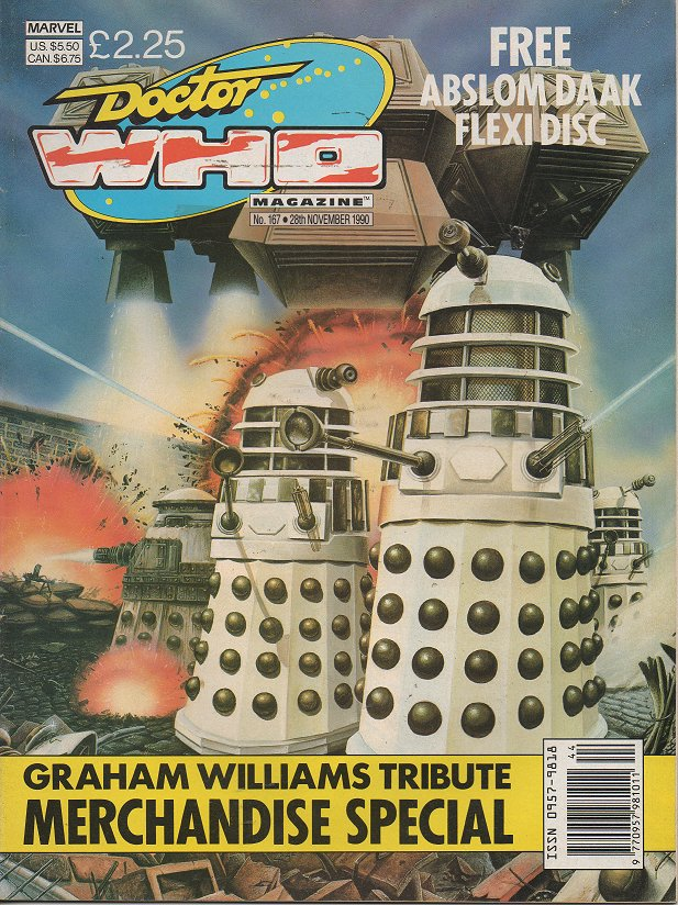 Doctor Who Magazine Vol 1 167