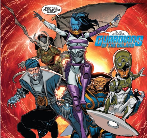 Guardians of the Galaxy (1016 A.D.) (Earth-616)/Gallery
