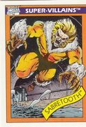 Victor Creed (Earth-616) from Marvel Universe Cards Series I 0001