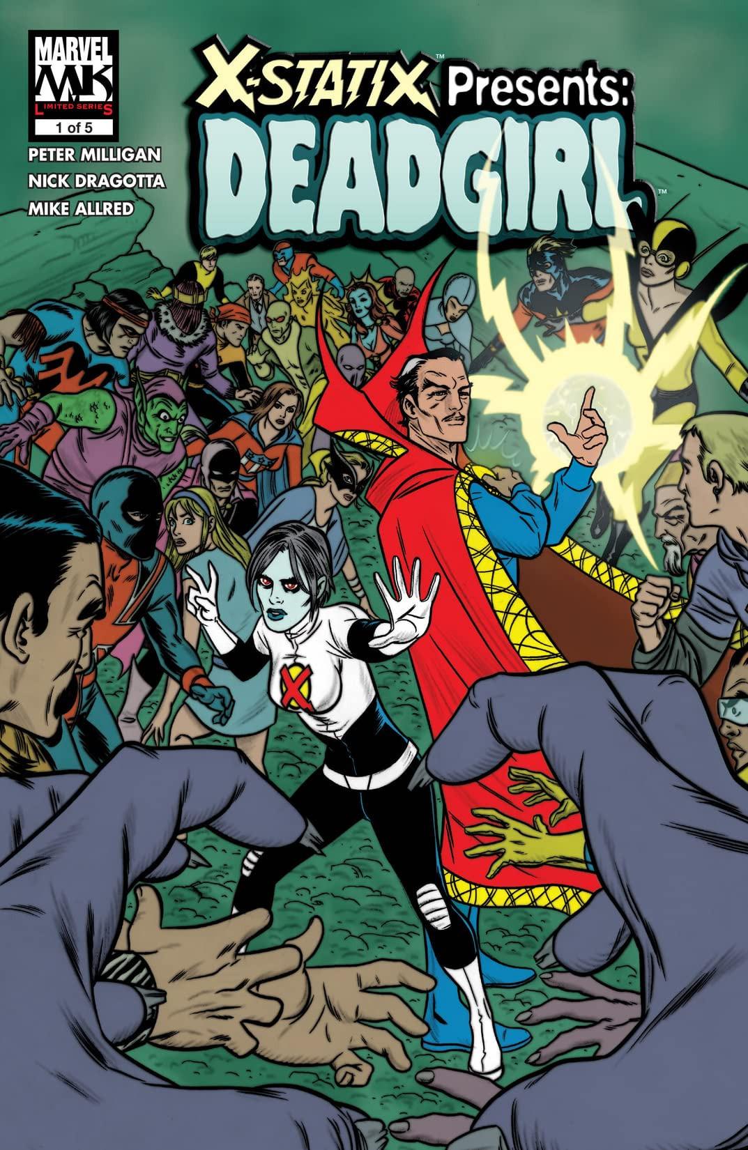 X-Statix Presents: Dead Girl Vol 1 1