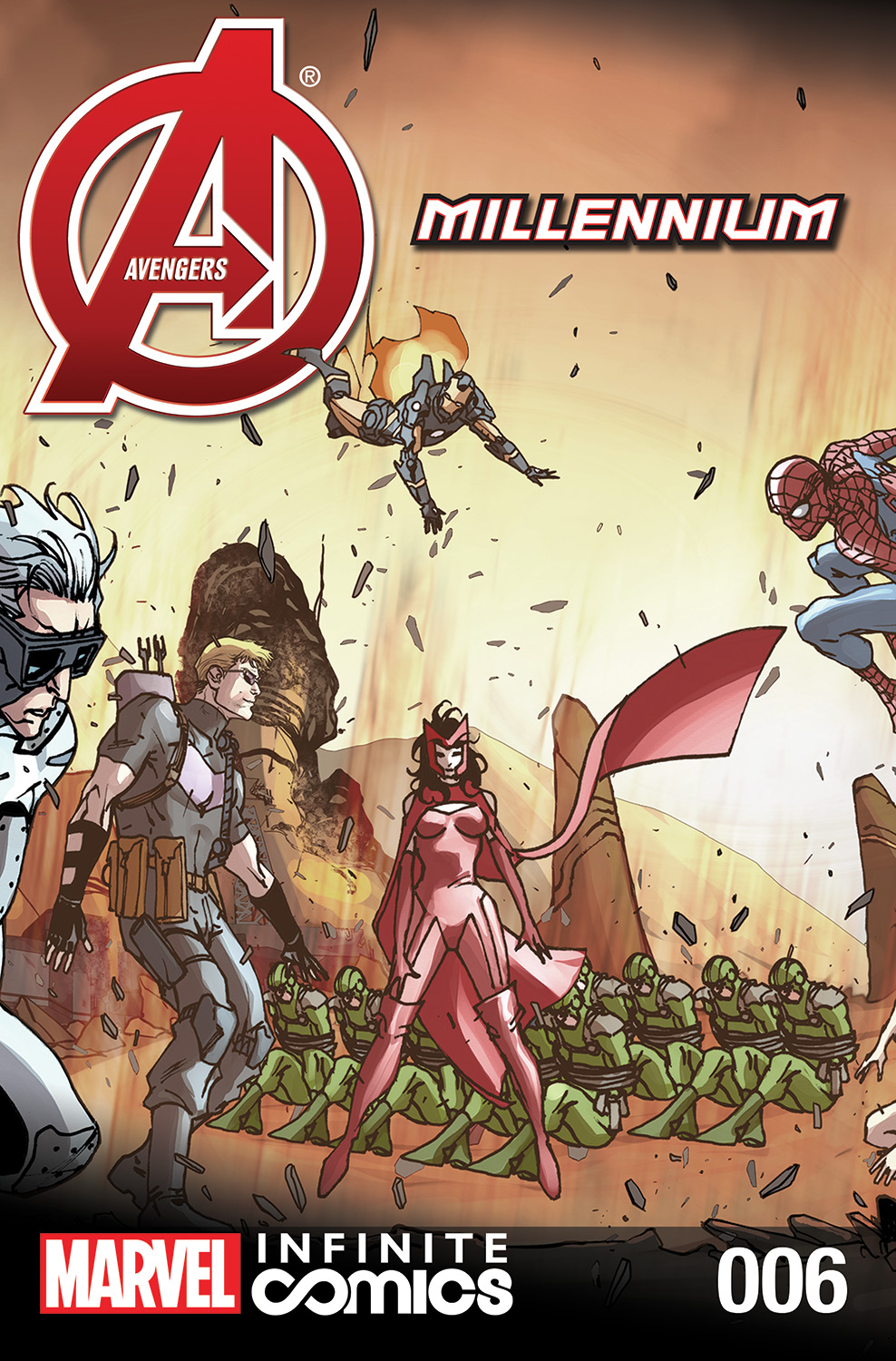 Avengers: Millennium Infinite Comic Vol 1 6