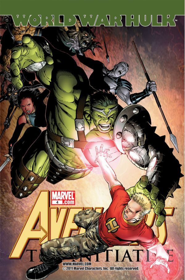 Avengers: The Initiative Vol 1 4