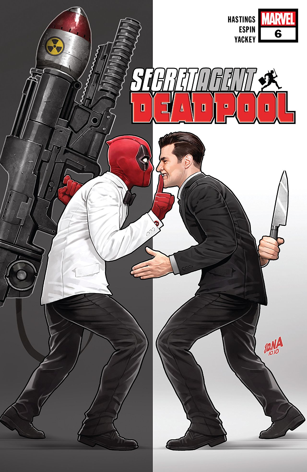 Deadpool: Secret Agent Deadpool Vol 1 6