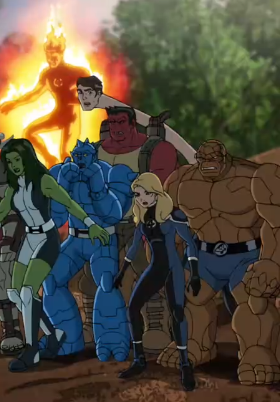 Fantastic Four (Earth-12041)/Gallery