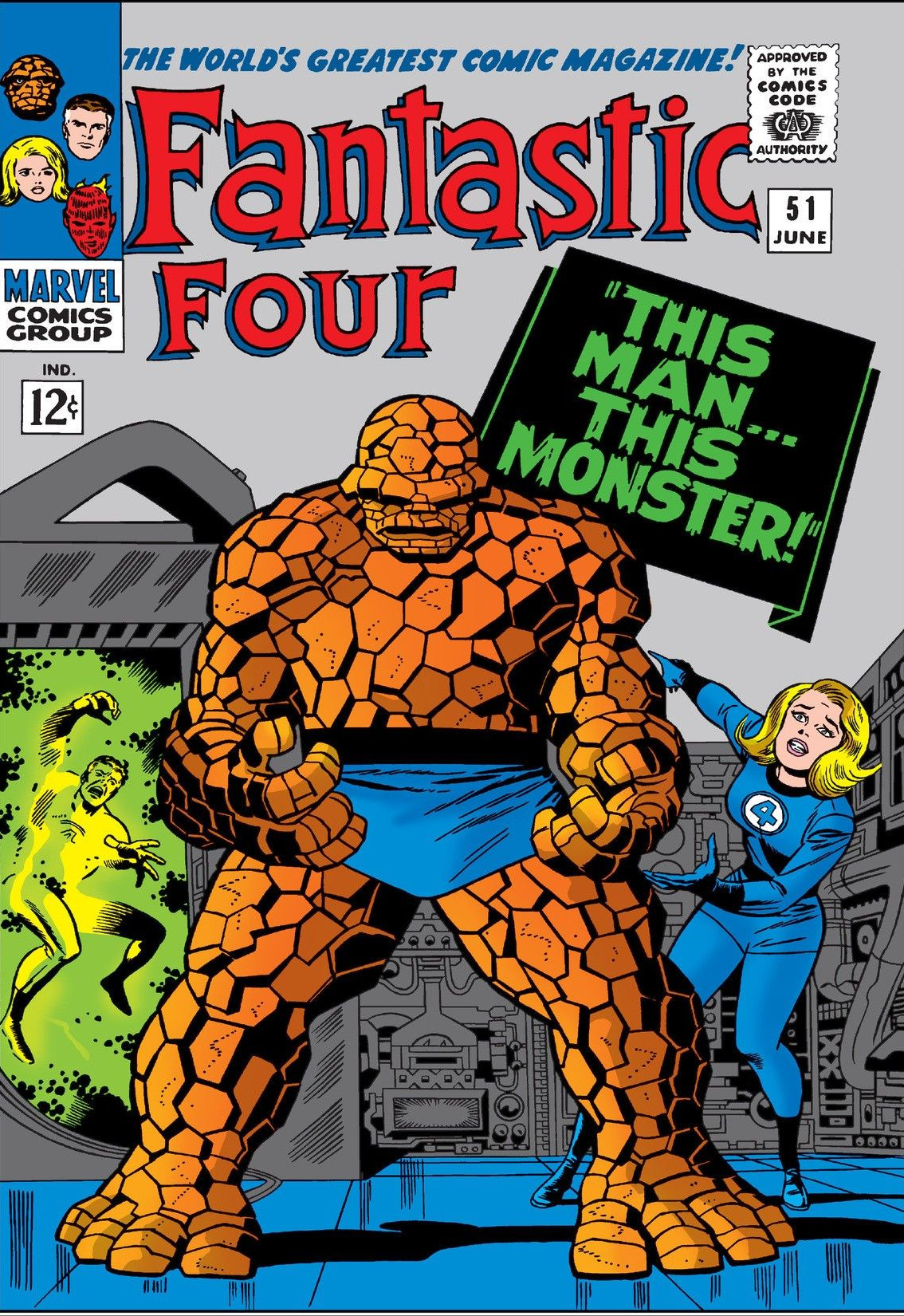 Fantastic Four Vol 1 51