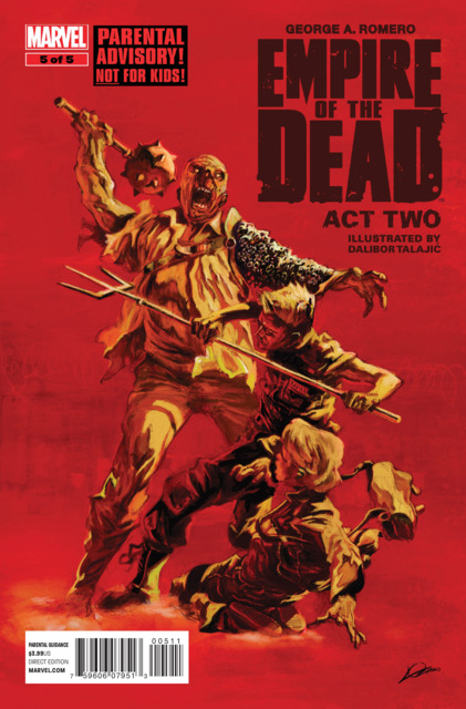 George Romero's Empire of the Dead: Act Two Vol 1 5