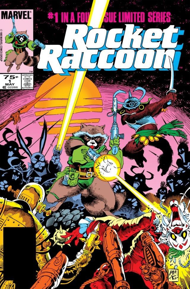 Rocket Raccoon Vol 1 1
