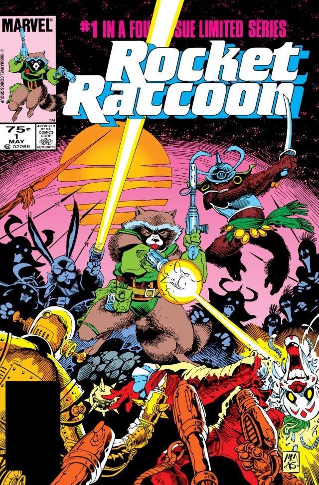 Rocket Raccoon Vol 1