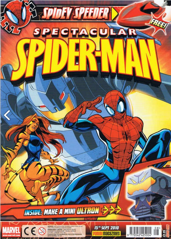 Spectacular Spider-Man (UK) Vol 1 208