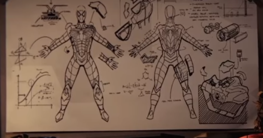 Spider-Man's Anti-Ock Suit Blueprints from Marvel's Spider-Man (video game).png