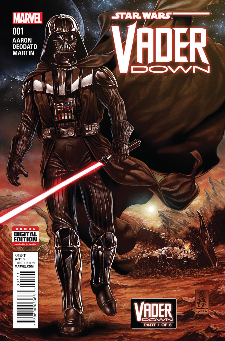 Star Wars: Vader Down Vol 1 1