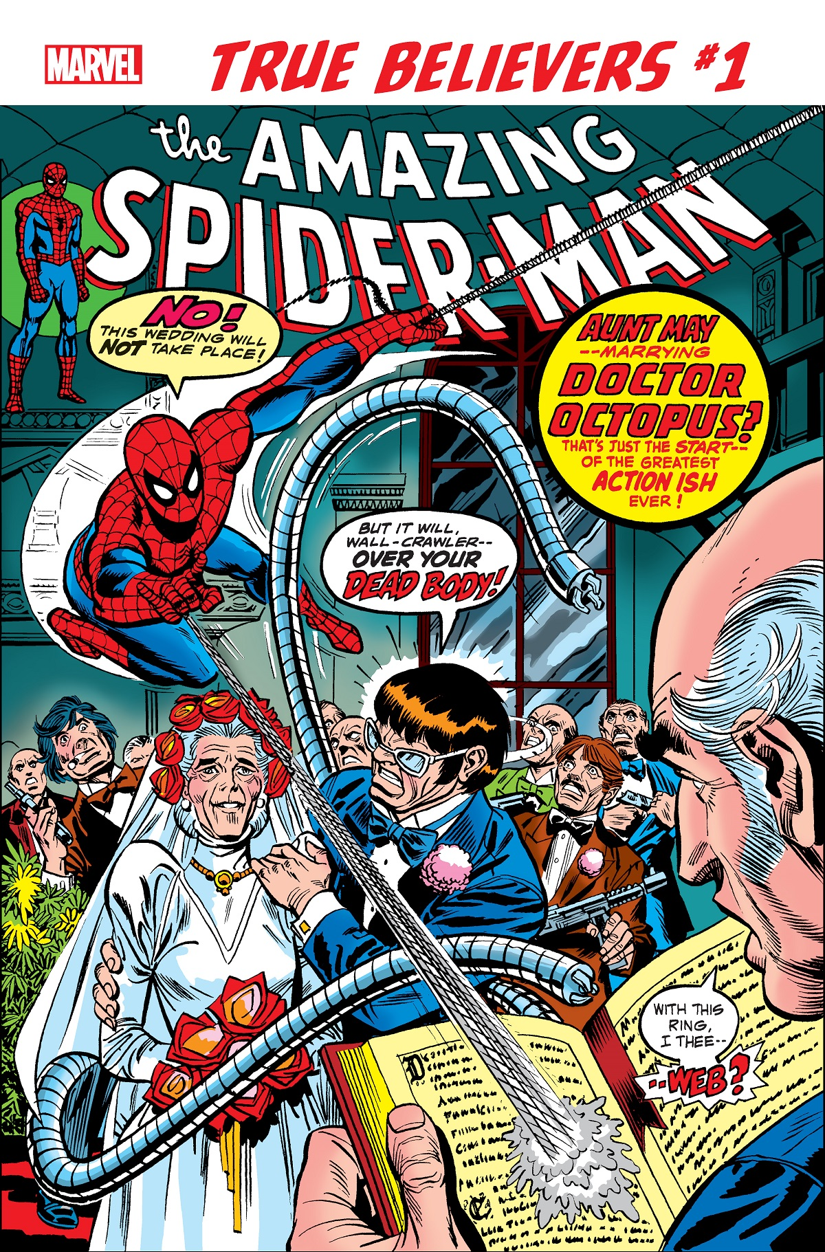 True Believers: Spider-Man - The Wedding of Aunt May & Doc Ock Vol 1 1 | Marvel Database | Fandom