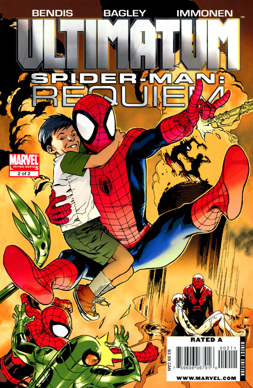 Ultimatum: Spider-Man Requiem Vol 1 2