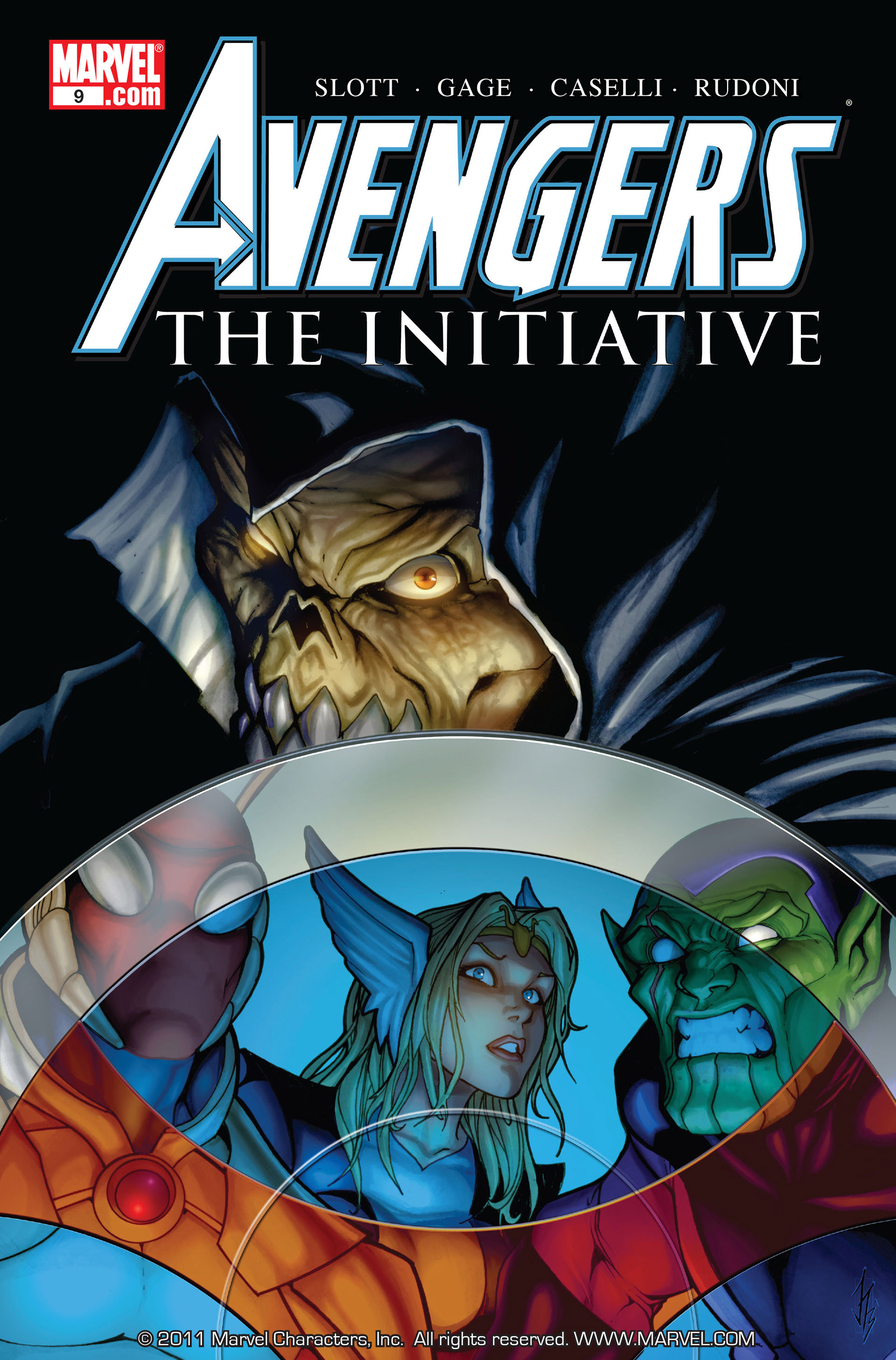 Avengers: The Initiative Vol 1 9
