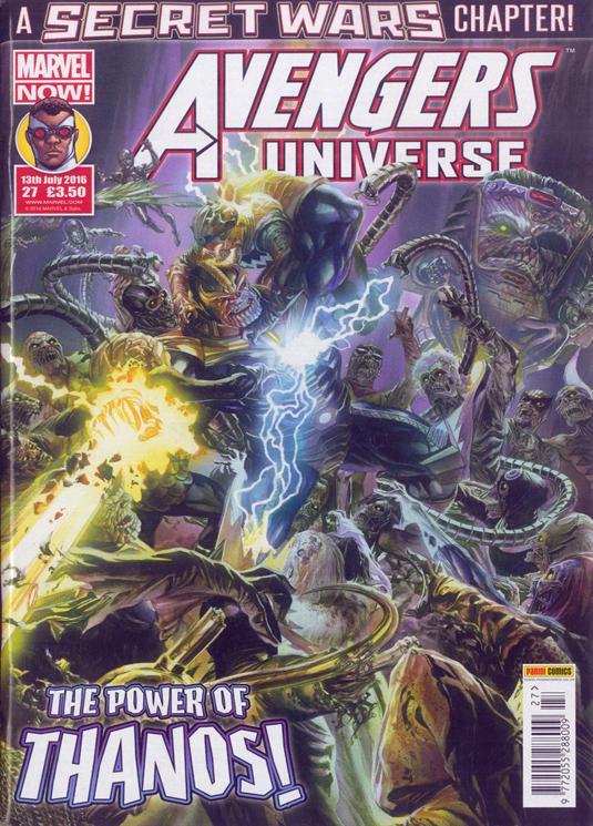 Avengers Universe (UK) Vol 1 27