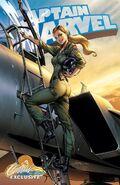 Captain Marvel Vol 10 1 JSC Exclusive Variant E