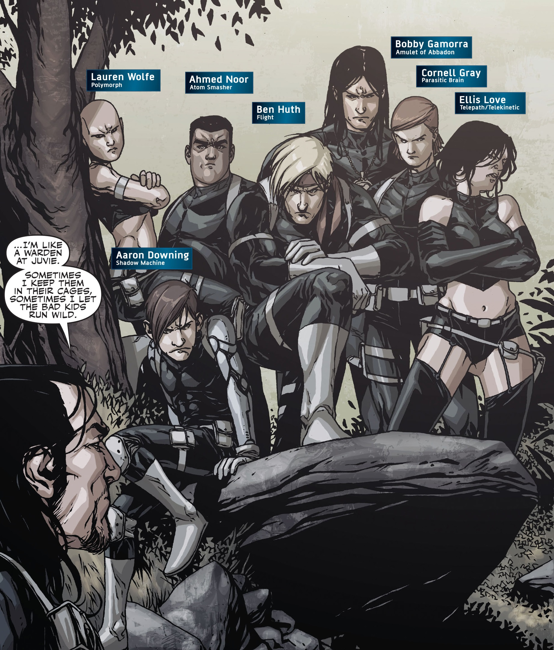 Caterpillars (Earth-616) Team Black from Secret Warriors Vol 1 17 0001.jpg