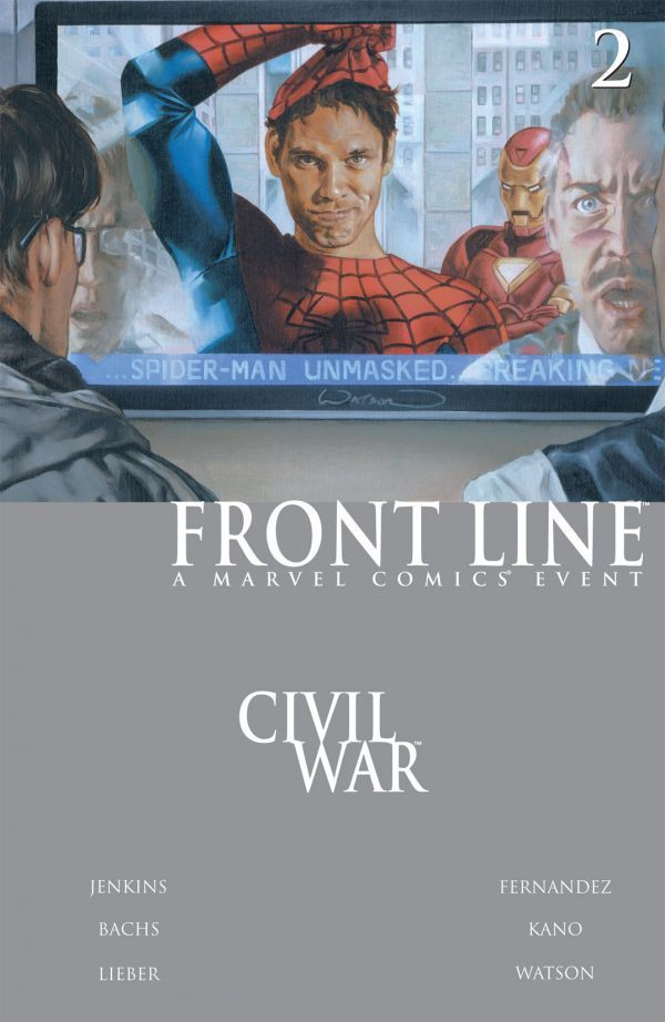 Civil War: Front Line Vol 1 2